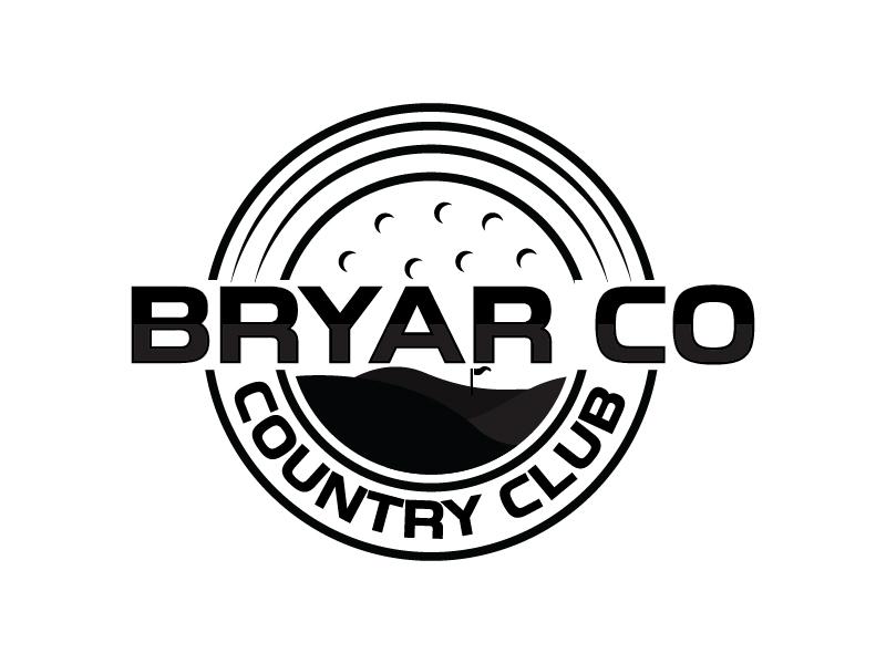 Bryar Co Country Club logo design by Shailesh