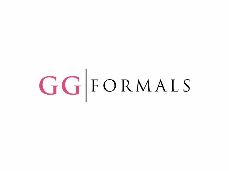 GG Formals logo design by ora_creative