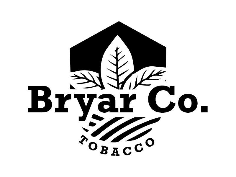 Bryar Co. Tobacco logo design by Gwerth