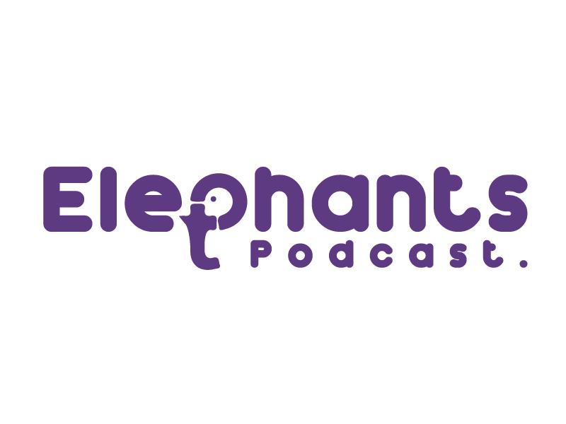 Elephants Podcast logo design by Sami Ur Rab