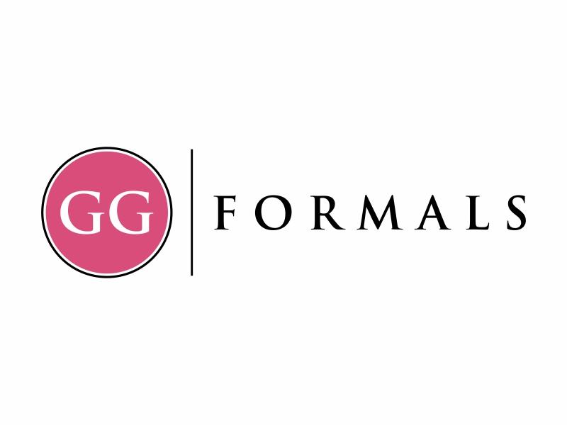 GG Formals logo design by Franky.