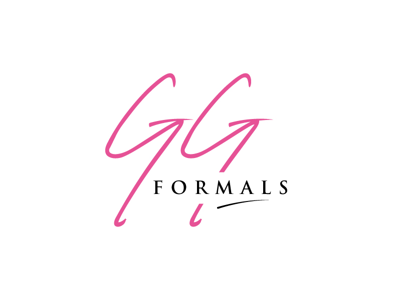 GG Formals logo design by sanworks