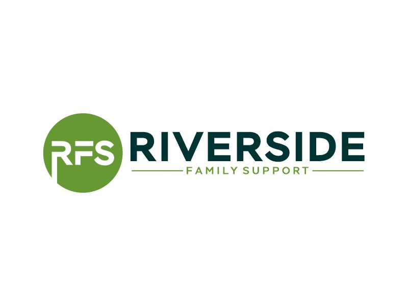Riverside Family Support logo design by Gwerth