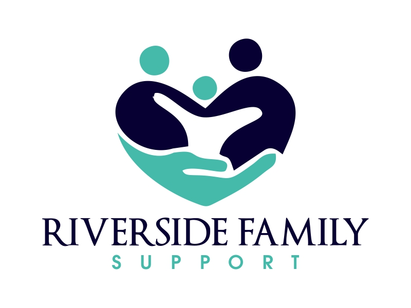 Riverside Family Support logo design by JessicaLopes