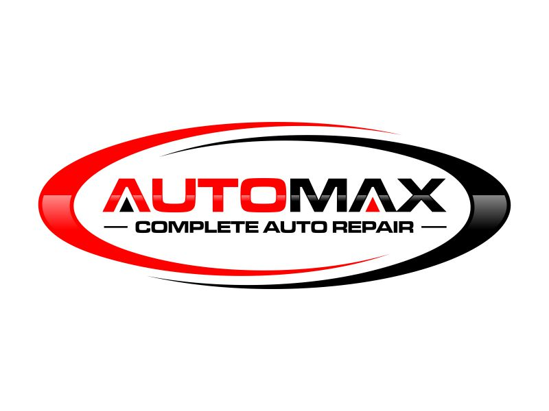 AutoMax logo design by rian38