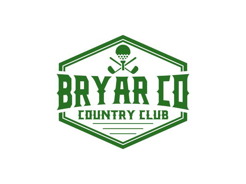 Bryar Co Country Club logo design by rian38