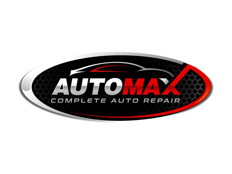 AutoMax logo design by sanworks