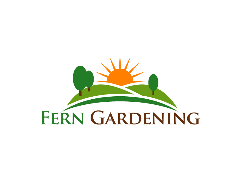 Fern Gardening logo design by Kirito