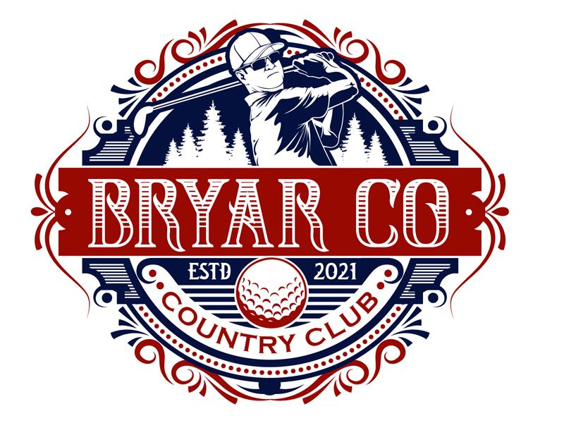Bryar Co Country Club logo design by DreamLogoDesign