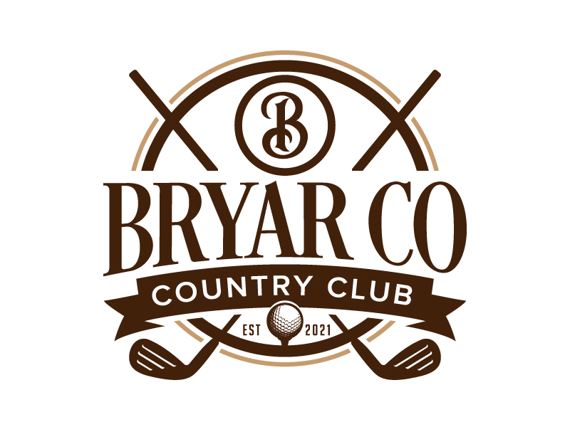Bryar Co Country Club logo design by jaize