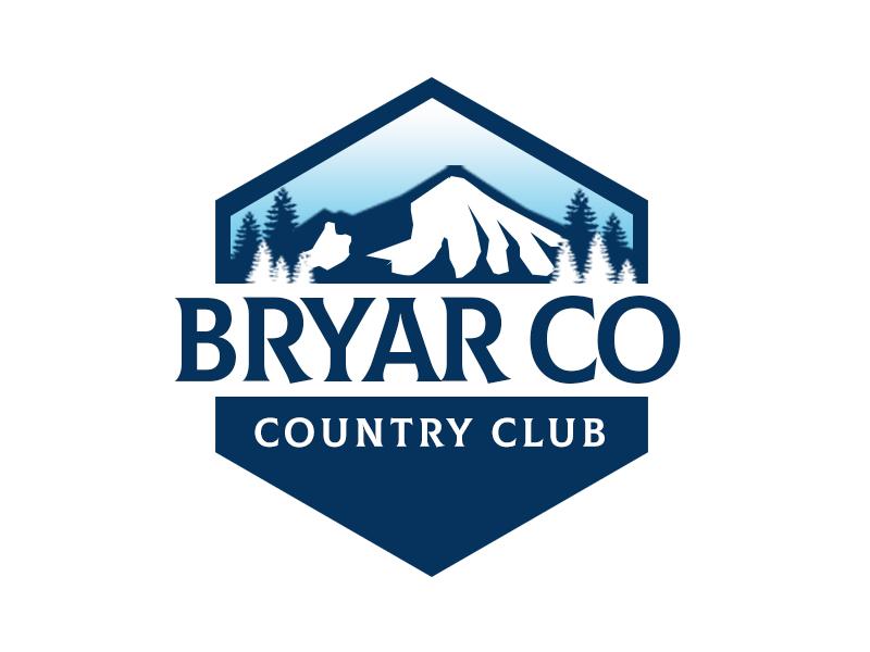 Bryar Co Country Club logo design by kunejo