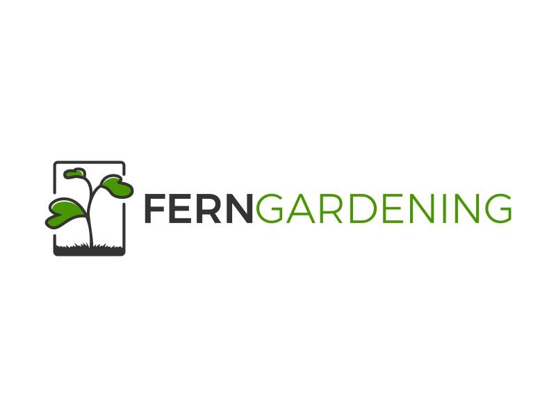 Fern Gardening logo design by Mardhi