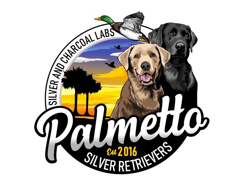 Palmetto Silver Retrievers Logo Design