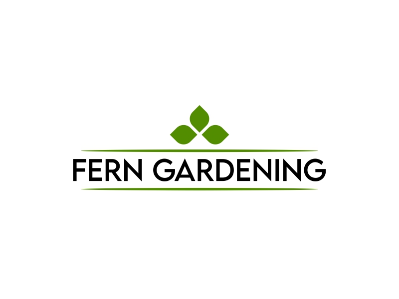 Fern Gardening logo design by ingepro