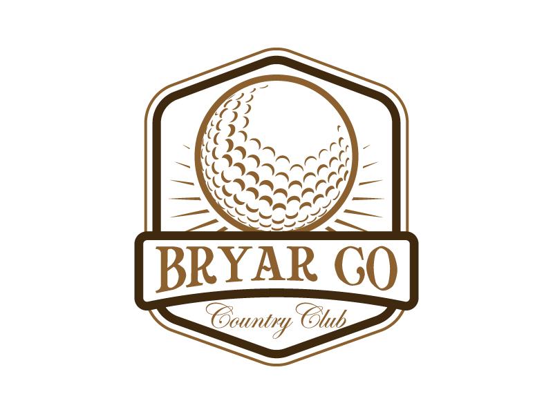 Bryar Co Country Club logo design by Kirito