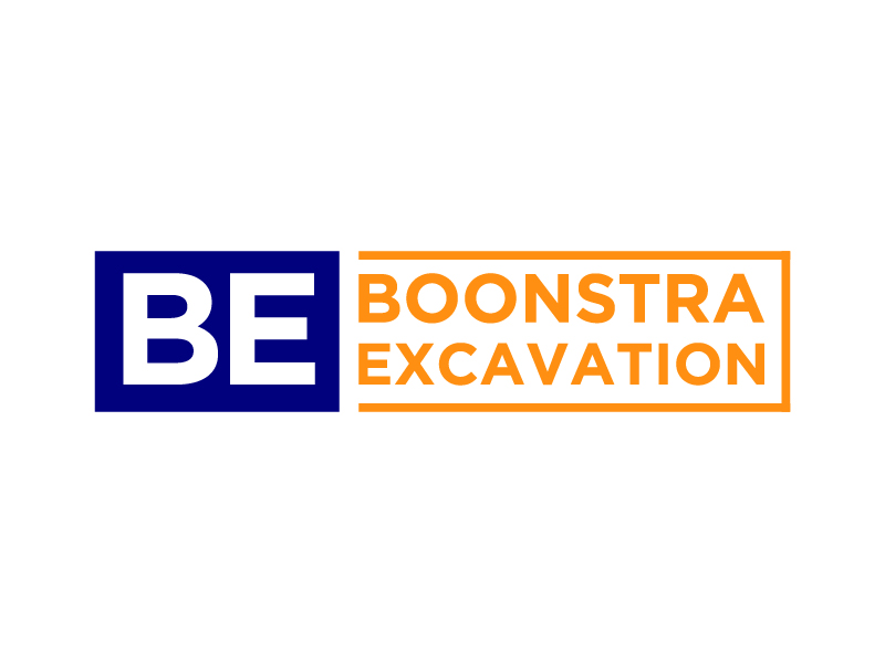 Boonstra Excavation LLC logo design by gateout