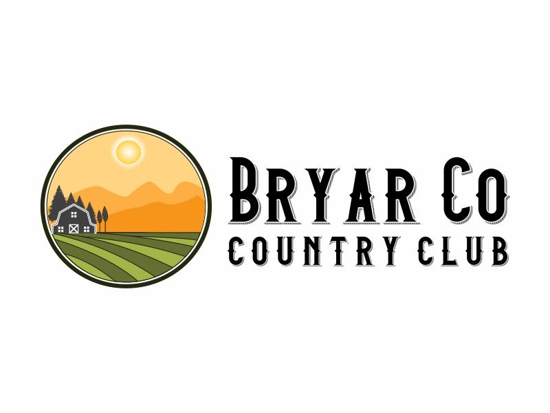 Bryar Co Country Club logo design by Greenlight
