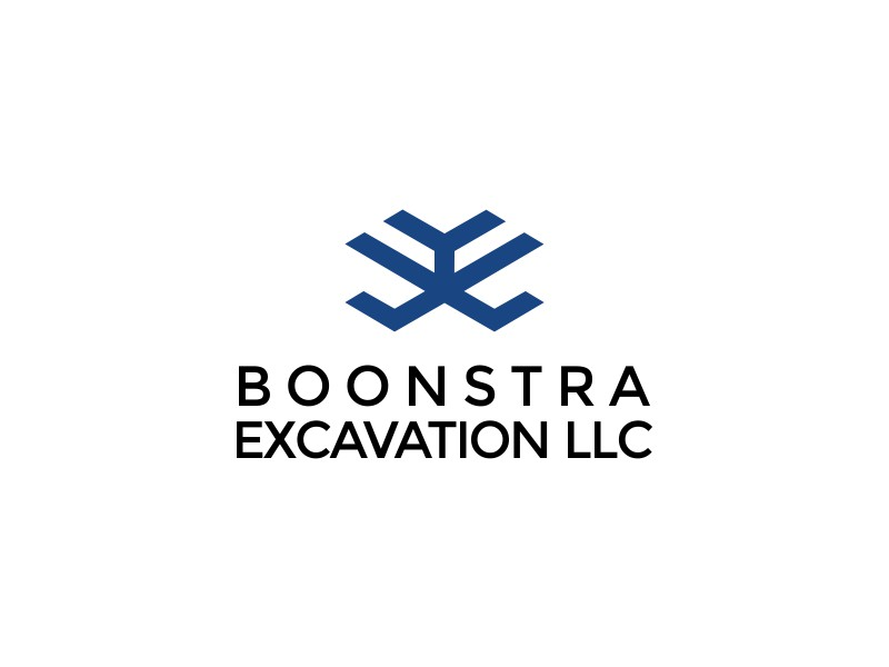 Boonstra Excavation LLC logo design by Nuri Arifin