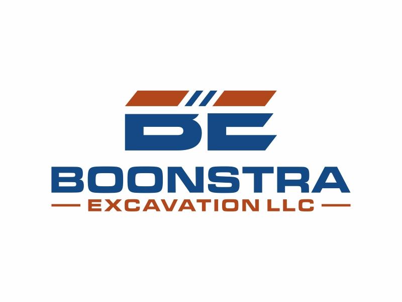 Boonstra Excavation LLC logo design by puthreeone