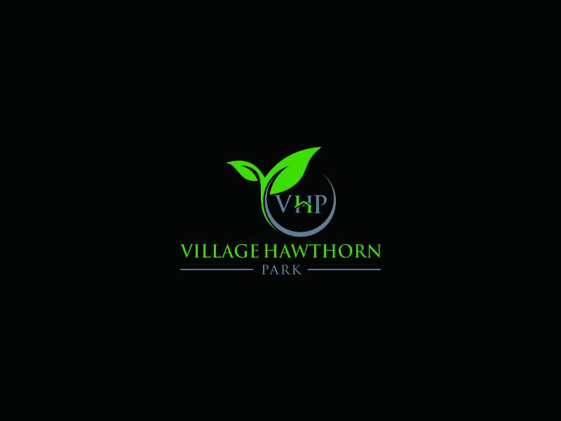 Village Hawthorn Park Logo Design