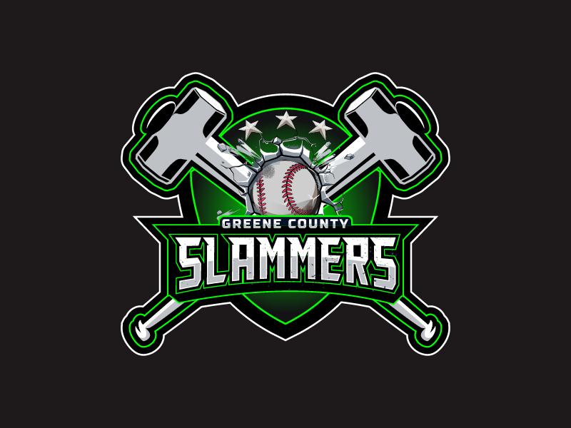 Greene County Slammers Logo Design
