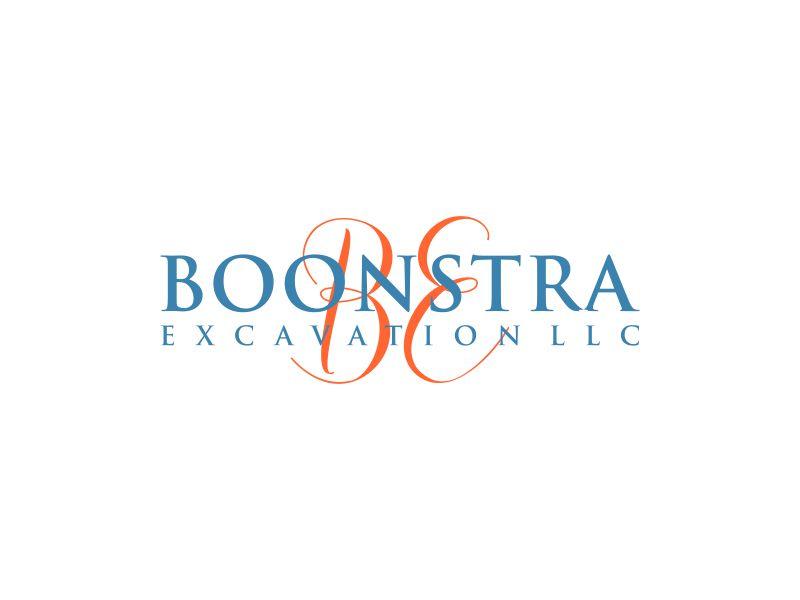 Boonstra Excavation LLC logo design by mukleyRx