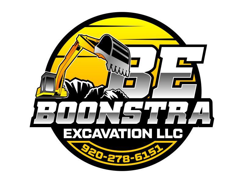 Boonstra Excavation LLC logo design by beejo