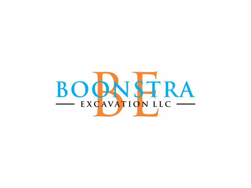 Boonstra Excavation LLC logo design by andayani*