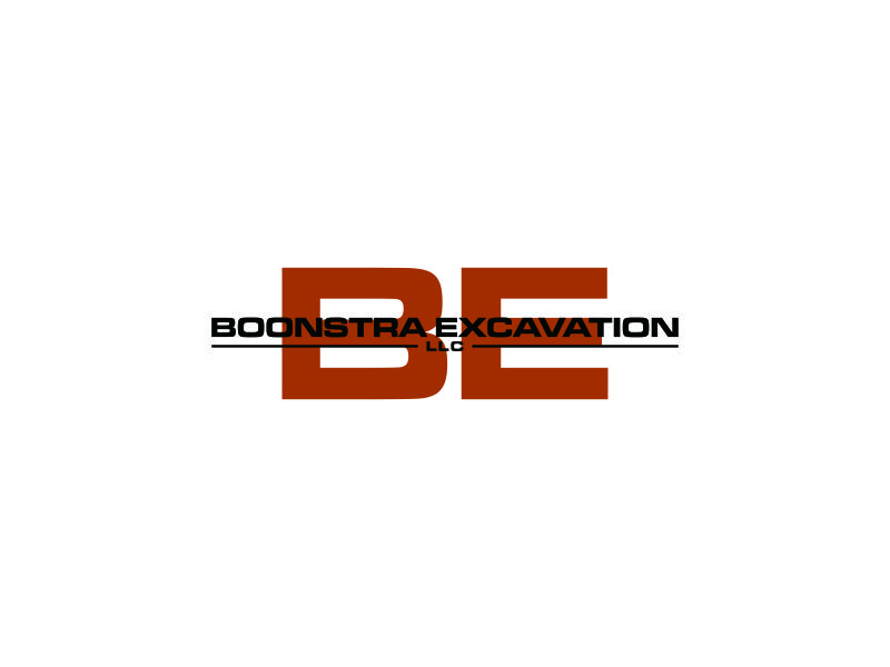 Boonstra Excavation LLC logo design by blessings