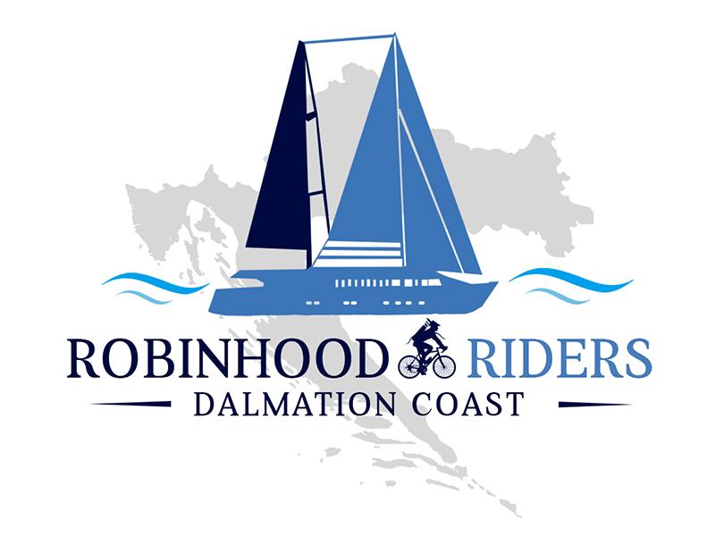 Robinhood Riders Dalmation Coast logo design by PrimalGraphics