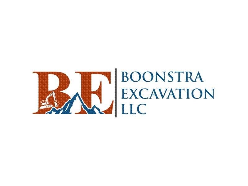 Boonstra Excavation LLC logo design by Dian..cox