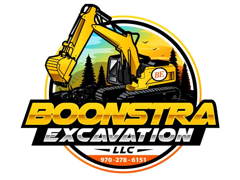 Boonstra Excavation LLC logo design by uttam