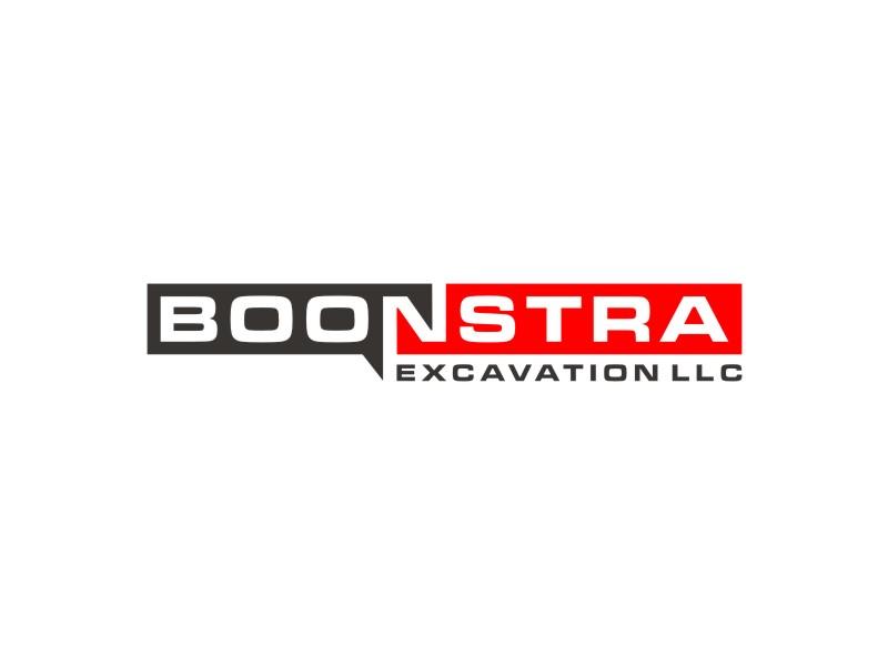 Boonstra Excavation LLC logo design by Arto moro