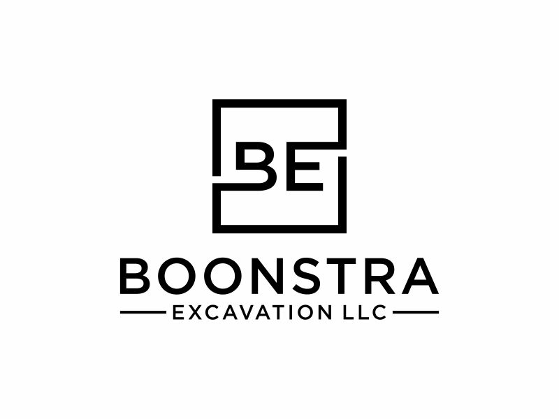 Boonstra Excavation LLC logo design by ora_creative