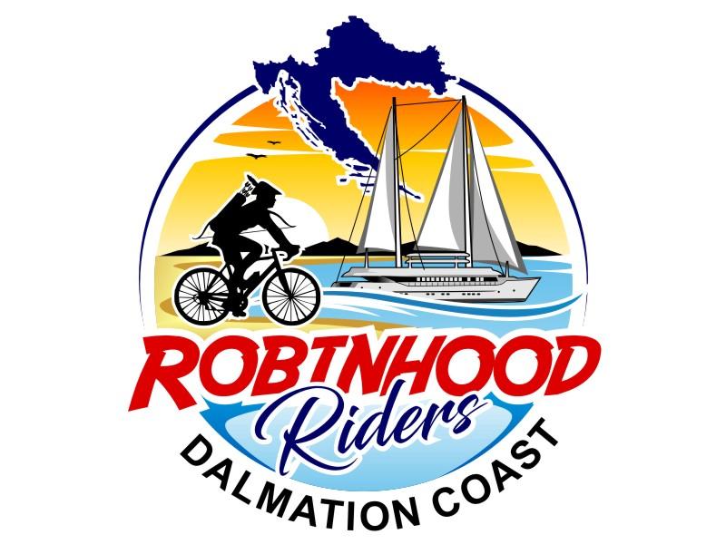 Robinhood Riders Dalmation Coast logo design by haze