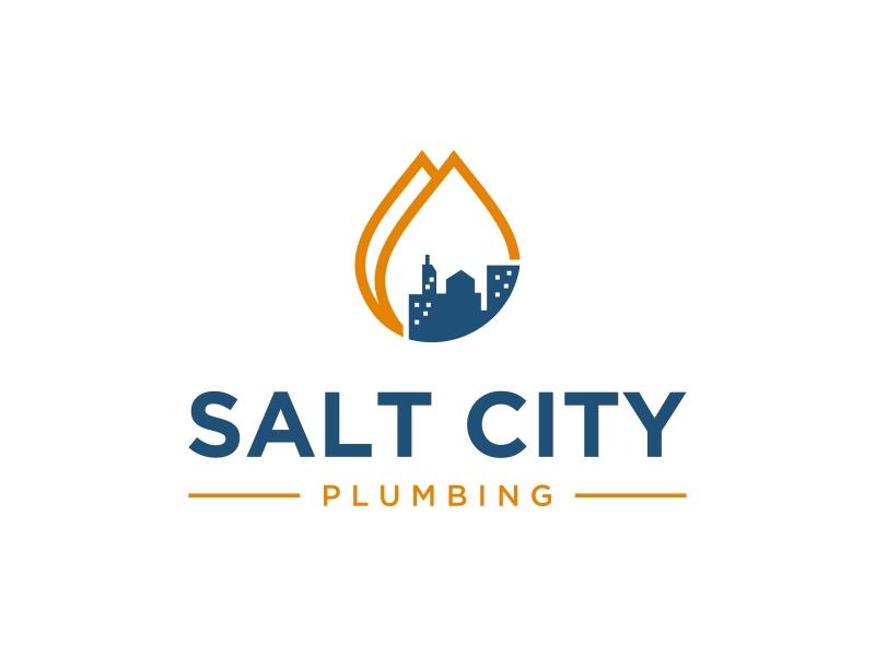 Salt City Plumbing Logo Design