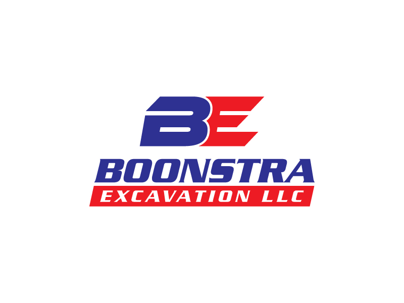 Boonstra Excavation LLC logo design by IrvanB