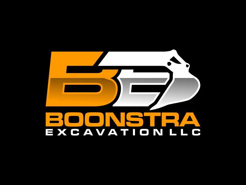 Boonstra Excavation LLC logo design by josephira