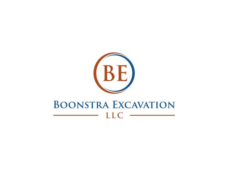 Boonstra Excavation LLC logo design by tejo