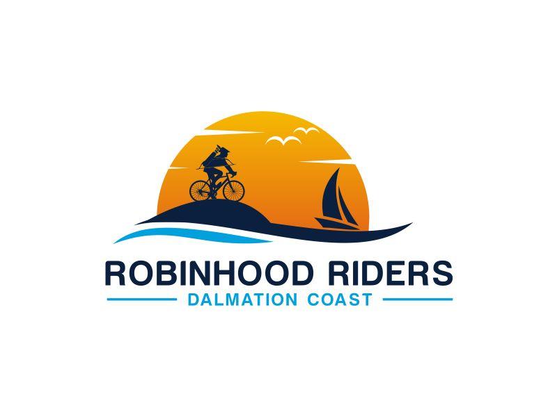 Robinhood Riders Dalmation Coast logo design by GassPoll