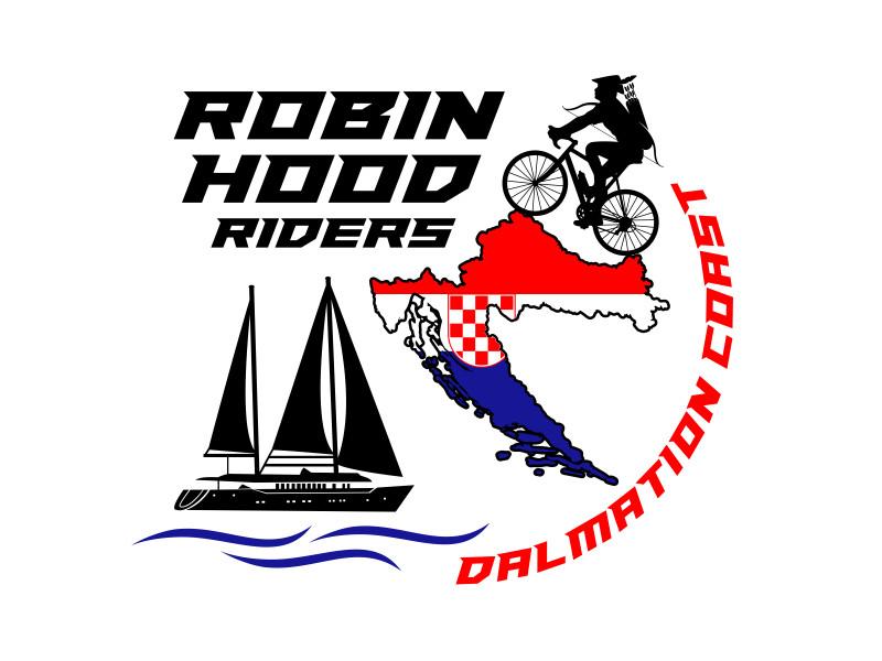 Robinhood Riders Dalmation Coast logo design by aura