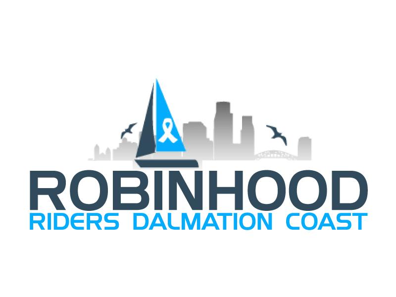 Robinhood Riders Dalmation Coast logo design by ElonStark