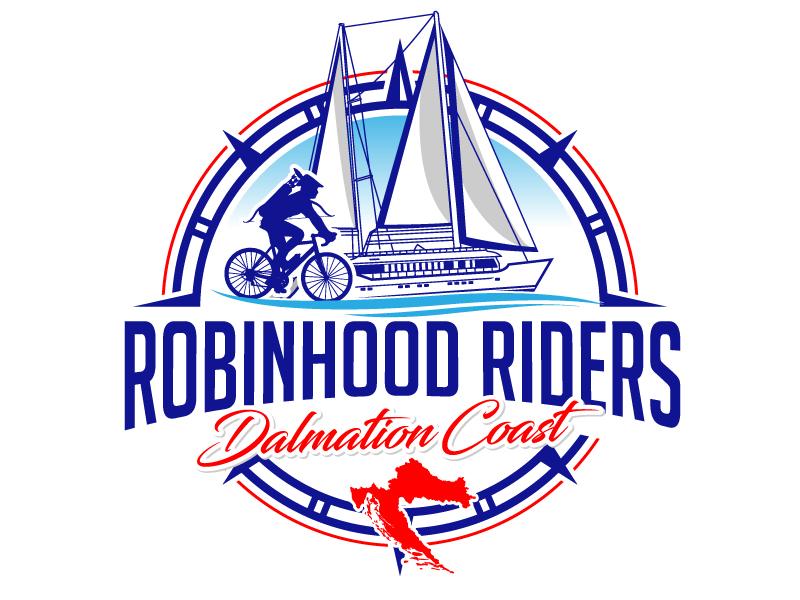 Robinhood Riders Dalmation Coast logo design by jaize