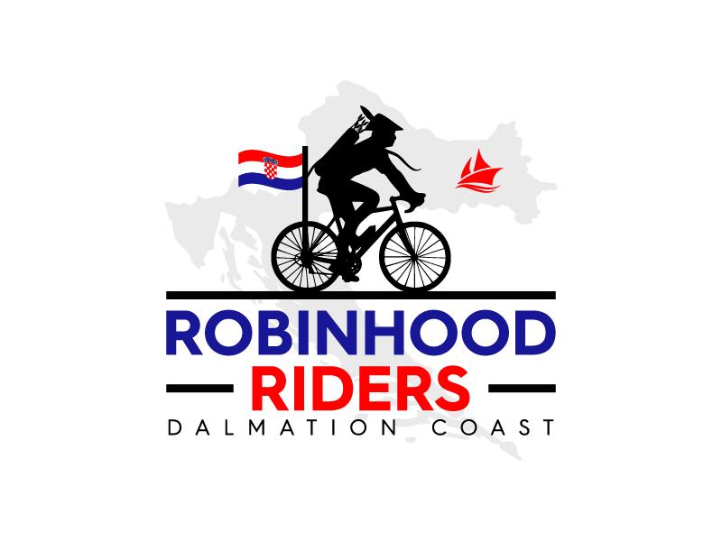 Robinhood Riders Dalmation Coast logo design by wongndeso