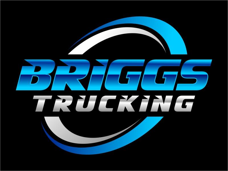 Briggs Trucking logo design by cintoko