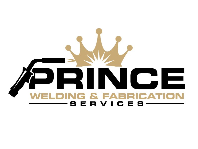 Prince Welding and Fabrication Services logo design by jaize