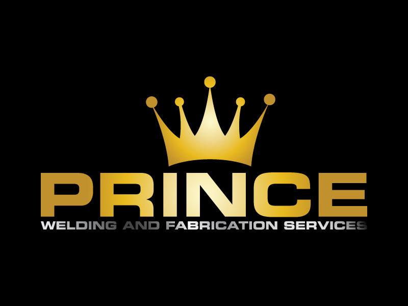 Prince Welding and Fabrication Services logo design by karjen