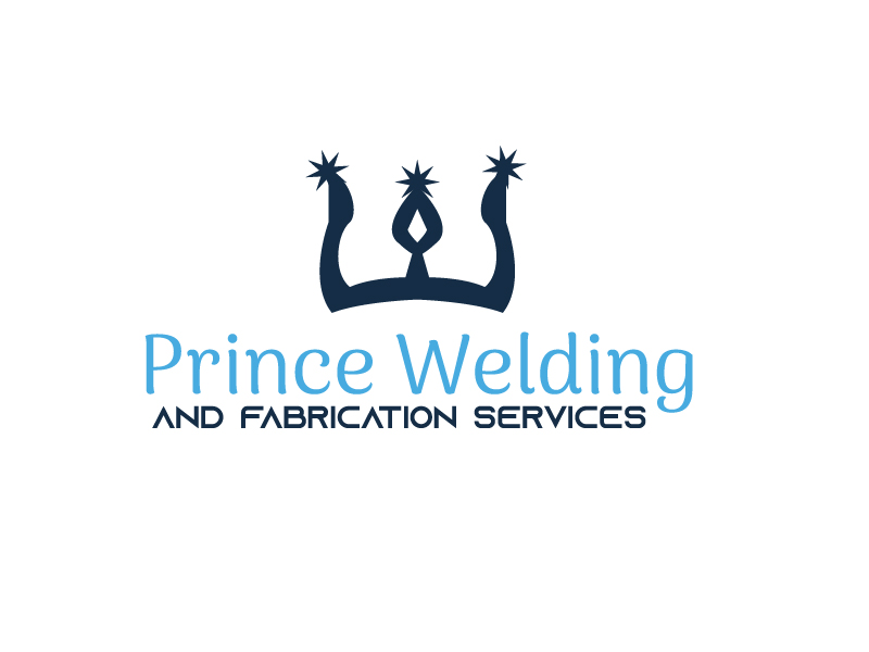 Prince Welding and Fabrication Services logo design by Shailesh