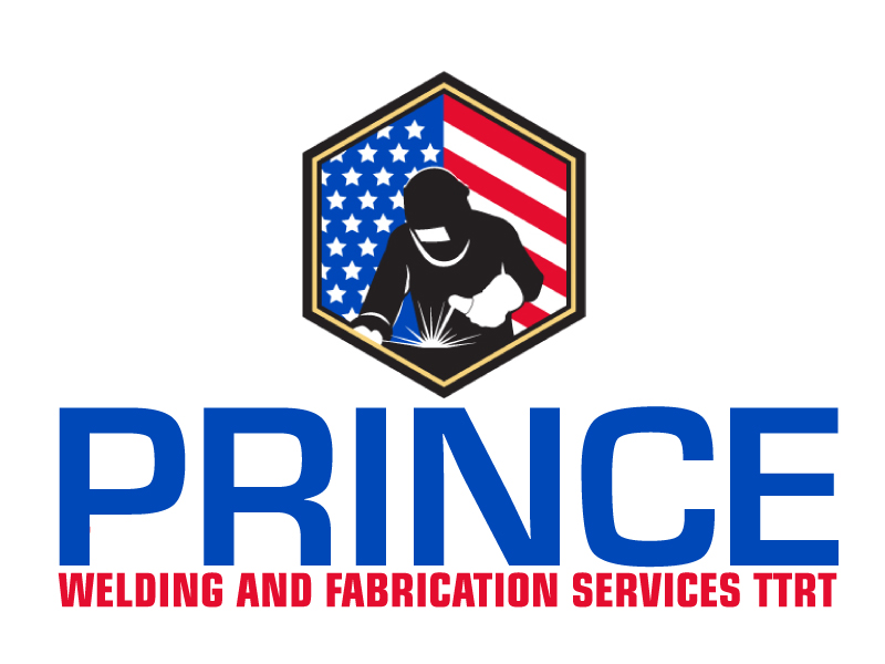 Prince Welding and Fabrication Services logo design by ElonStark