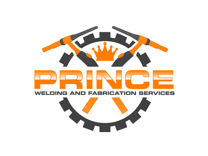Prince Welding and Fabrication Services logo design by Kirito